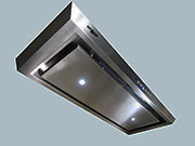 "Range Hood Built-In Under Cabinet 30"" CH-200 Led NT AIR"