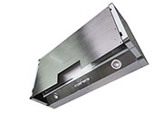 "Pull Out Range Hood 36"" TGR04 Stainless Steel Door NT AIR"